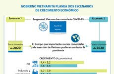 [Info] GOBIERNO VIETNAMITA PLANEA DOS ESCENARIOS DE CRECIMIENTO ECONÓMICO
