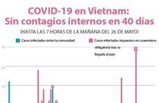 [Info] Vietnam: 40 días sin infectados del COVID-19 entre la comunidad