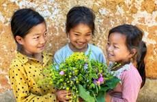[Foto] Aldea Choan Then, sonrisas de niños de la étnia Ha Nhi