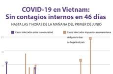 [Info] Vietnam: 46 días sin infectados del COVID-19 entre la comunidad