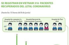 [Info] COVID-19 en Vietnam: 316  pacientes recuperados