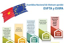 [Info] Asamblea Nacional de Vietnam aprueba EVFTA y EVIPA