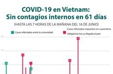 [Info] COVID-19 en Vietnam: Sin contagios internos en 61 días
