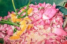 [Foto] Descubre elaboración de té con aroma de flor de loto