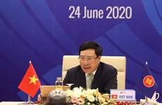 [Foto] ASEAN 2020: Reunión informal de cancilleres de la ASEAN