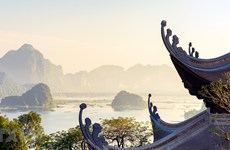 [Foto] Hermoso paisaje en zona turística de Tam Chuc
