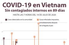 [Info] COVID-19 en Vietnam: Sin contagios internos en 89 días