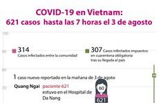 [Info] COVID-19 en Vietnam: 621 casos