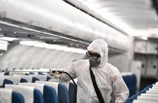 [Foto] Vietnam Airlines desinfecta sus aviones para prevenir contagio por el nuevo coronavirus