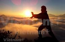 [Foto] Pico Hoang Lien Son al amanecer