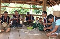 [Foto] Cestas en cultura Jrai en el Altiplano Central de Vietnam