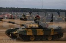 [Foto] Vietnam, segundo lugar en la final del biatlón de tanques en Army Games