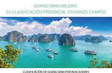 CLASIFICACIÓN DE QUANG NINH POR INDICADORES