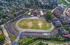 [Foto] Carrera de caballos Bac Ha atrae a turistas