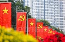 """Todo listo para celebración de """"gran efeméride"""" del Partido Comunista de Vietnam"""