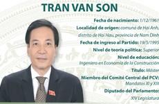 Tran Van Son, ministro y jefe de la Oficina del Gobierno de Vietnam