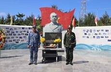 Estatua del general Vo Nguyen Giap custodia la soberanía vietnamita en archipiélago de Truong Sa