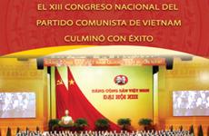 El XIII Congreso Nacional del Partido Comunista de Vietnam culminó con éxito