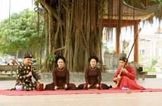 Dong Mon, cuna de Ca Tru o canto ceremonial de Vietnam