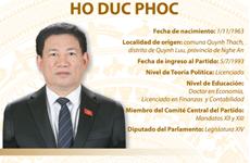 Ho Duc Phoc, ministro de Finanzas de Vietnam
