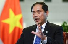 Diplomacia vietnamita mantendrá papel pionero para elevar el prestigio y la posición del país
