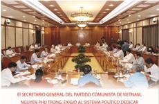 Instan a realizar el máximo empeño en lucha contra el COVID-19 en Vietnam
