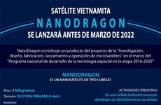 Satélite vietnamita de NanoDragon se lanzará antes de marzo de 2022