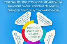 """""""Cada comuna, barrio y municipio es una fortaleza"""" en la lucha contra la pandemia del COVID-19"""
