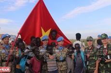Soldados vietnamitas unen esfuerzos al mantenimiento de la paz de la ONU