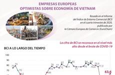 Empresas europeas optimistas sobre economía de Vietnam