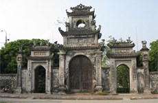 Conserva Pagoda Chuong valores históricos en región norteña de Vietnam