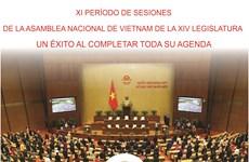 XI período de sesiones de la Asamblea Nacional de Vietnam de la XIV legislatura: Un éxito al completar toda su agenda