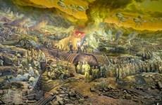 La pintura panorámica que recrea la histórica campaña Dien Bien Phu