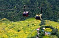 """Contribuye sistema de teleférico de Fansipan al turismo en el """"techo de Vietnam"""""""