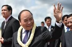 Premier de Vietnam llega a Camboya para Cumbre de Triángulo de Desarrollo CLV