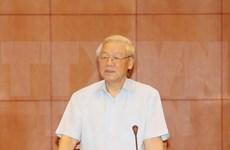 Líder partidista parte de Hanoi para visitar Laos