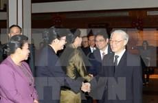 Visita del líder partidista de Vietnam a Laos imprimirá bríos a nexos bilaterales