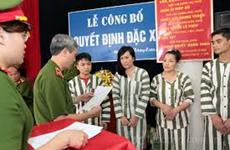 Concederá Vietnam amnistía en ocasión del Año Nuevo Lunar