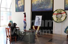 Vietnamitas en México rinden tributo a Fidel Castro