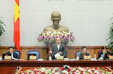Premier vietnamita urge esfuerzos para cumplir objetivos socioeconómicos de 2016