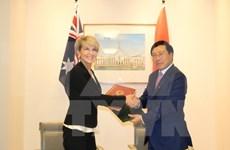 Vietnam es uno de socios clave de Australia en Asia-Pacífico, afirma canciller australiana