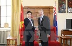 Canciller de Vietnam efectúa visita oficial a Nueva Zelanda