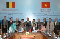 Empresas de región de Flanders Oriental buscan inversiones en Ciudad Ho Chi Minh