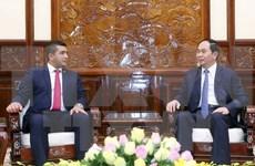 Dispuesto Vietnam a cooperar con Madagascar en sectores potenciales