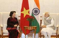 Presidenta de la Asamblea Nacional de Vietnam concluye visita a India