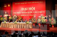 Asociación de Amistad Vietnam-Rusia celebra su quinto congreso