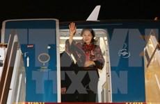 Líder parlamentaria vietnamita llega a EAU para participar en Cumbre de Presidentas de Parlamento