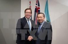 Vietnam y Australia robustecen cooperación en prevención y lucha contra crímenes