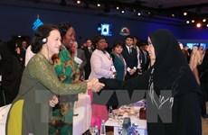 Destacan visita de la presidenta del Legislativo de Vietnam a India y EAU