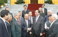Presidente vietnamita se reúne con ex expertos enviados a Camboya